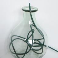 Flaschenlampe/Tüdelei