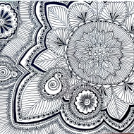 Zentangle (fertig)