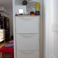 Aufgepimpter Schuhschrank von IKEA