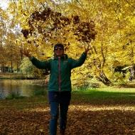 Ein wunderschöner Herbsttag im Bürgerpark