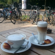 Lecker Kaffee bei Maitre Stefan